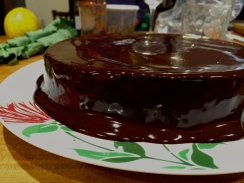 This is chocolate cake.