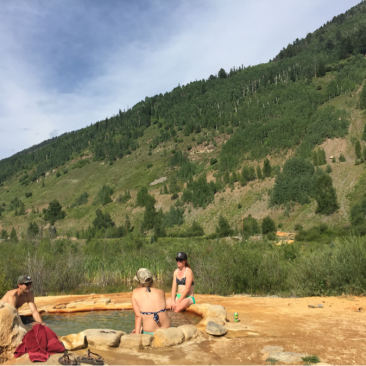 We found some sweet natural hot springs too, that was a plus. (Photo Sarah Zoey Sturm)