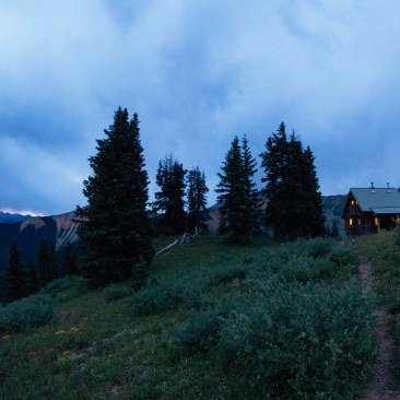 The Opus hut isn't just a skiing destination. Bob has built an oasis in the heart of the San Juan mountains. Thanks Bob. (Photo Sarah Zoey Sturm)