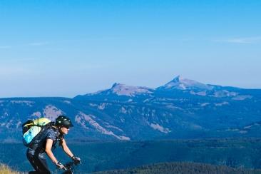 Sabina. Mountains. Bikes. (Photo Sarah Zoey Sturm)