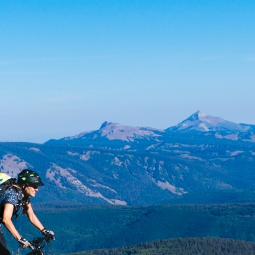 Sabina. Mountains. Bikes. (Photo Sarah Zoey Sturm)